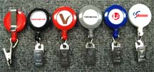 Custom Logo Retractable Reels for Name Badge holders or ID Card Holders