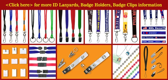 Lanyards, Badge Holders, Badge Clips, ID Holder Supply